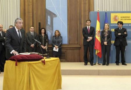 Julio Gómez-Pomar toma posesión de su cargo como secretario de Estado de Transportes en Fomento