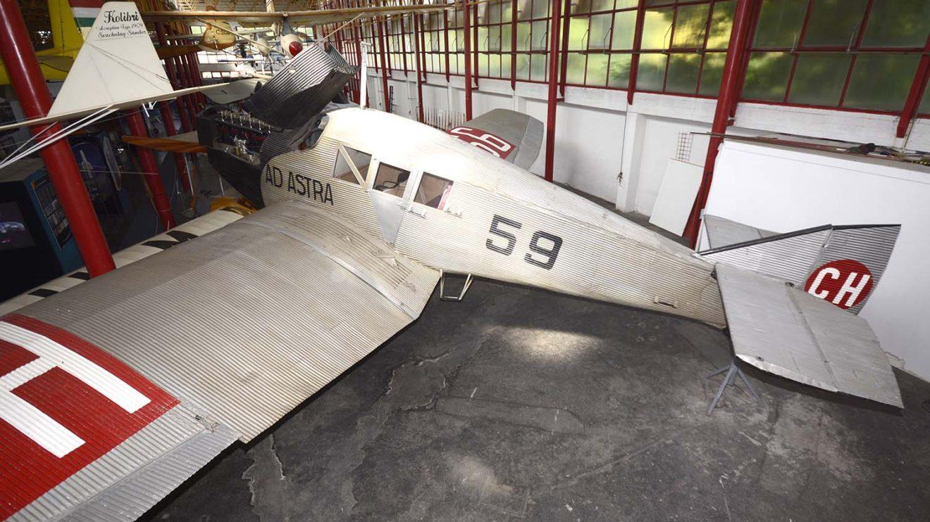 Numerosos F13 se conservan en museos de todo el mundo. Este está en el de Budapest.