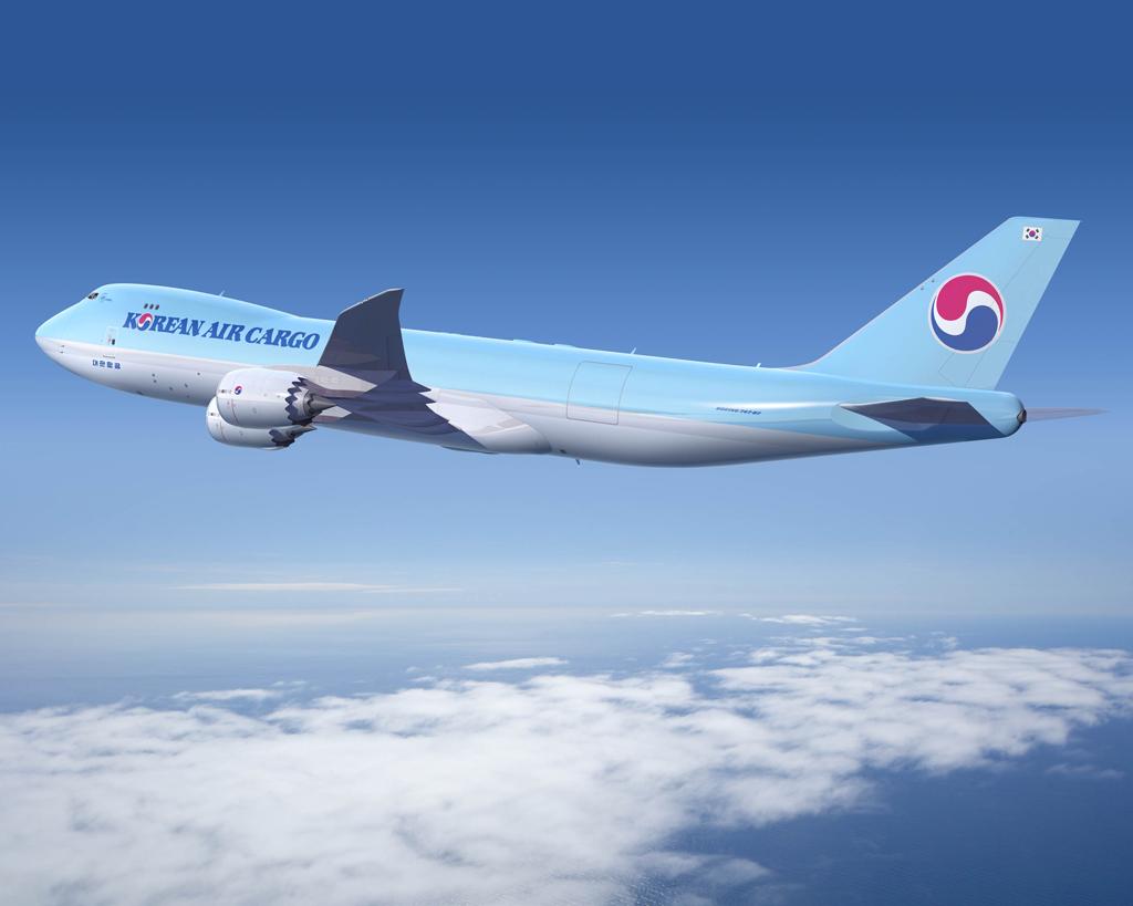 Boeing 747-8F de Korean Air