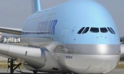Korean Air es la compañía que menos asientos pone en sus irbus A380, 407.