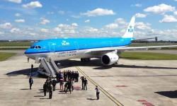 KLM realizará 20 vuelos entre Amsterdam y Aruba y Bonaire a lo largo de los próximos seis meses usando biocombustibles.
