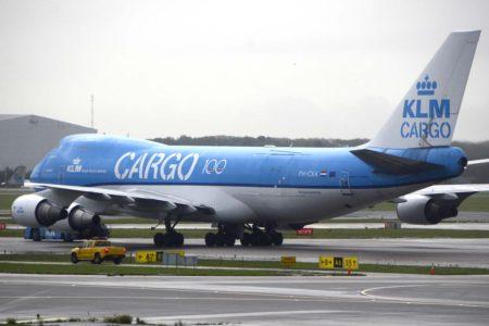 KLM solo ha dejado en servicio sus B-747 cargueros.