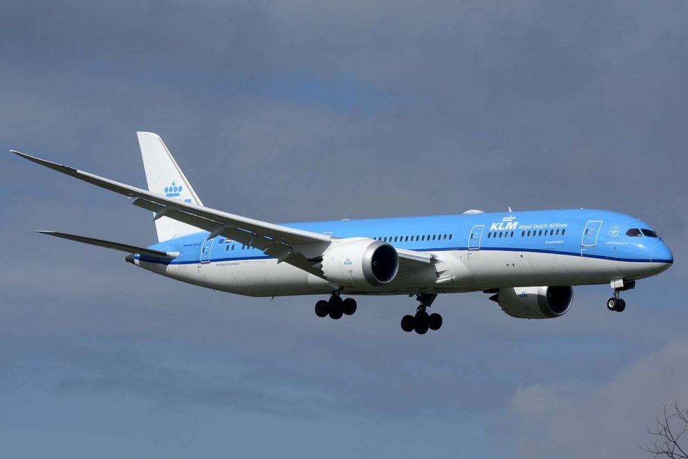 KLM realizará sus vuelos de largo radio en la temporada de verano con sus Boeing 787 y B-777.