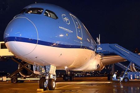 Boeing 787 de KLM.