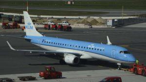 La filial de KLM, KLM Cityhopper ha sustituido a KLM en una importante parte de sus vuelos en Europa.