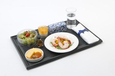 Nuevo menú de KLM