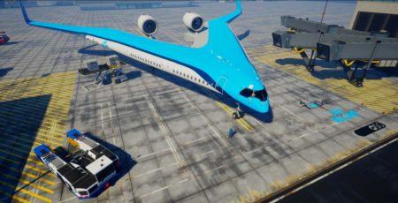 El avión propuesto por KLM y la universidad de Tu Delft será similar en capacidad al Airbus A350.