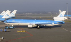 KLM es la única aerolína en el mundo que aún operaba un MD-11 de pasaje.