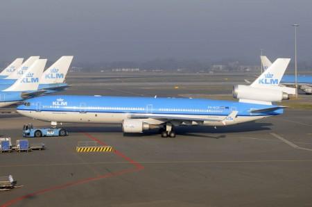 KLm sortea dos billetes para el último vuelo de su MD-11