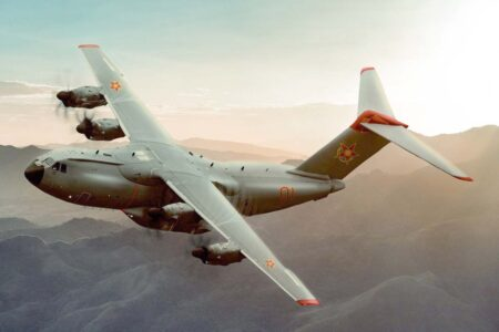 Kazajistán ha renovado gran parte de su flota militar de transporte de origen soviético por aviones montados en Sevilla: el C295, y ahora el A400M.