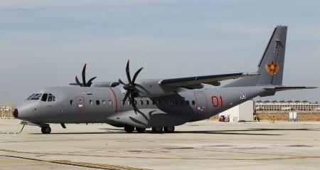 C295 de la Fuerza Aérea de Kazastán