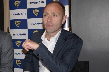 Kenny Jacobs durante su rueda de prensa en Madrid.