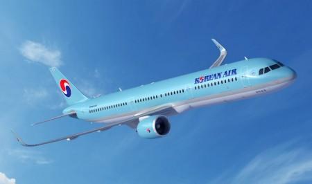 El nuevo pedido de Korean Air de A321 es el primero de la aerolínea para los aviones de un pasillo de Airbus