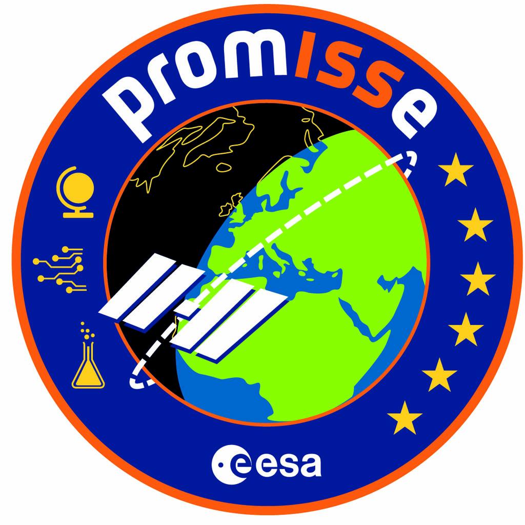 Emblema de la misión espacial para la ESA