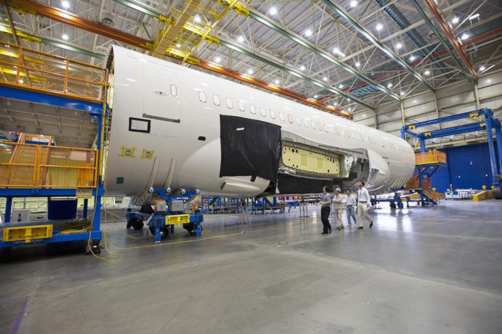 Primer Boeing 787 de LAN