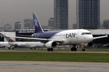 Airbus A320 de LAN Argentina
