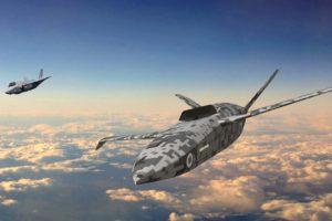 Aspecto que podría tener el LANCA, el primer dron de combate de la RAF.
