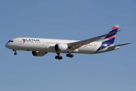 Boeing 787 de LATAM.