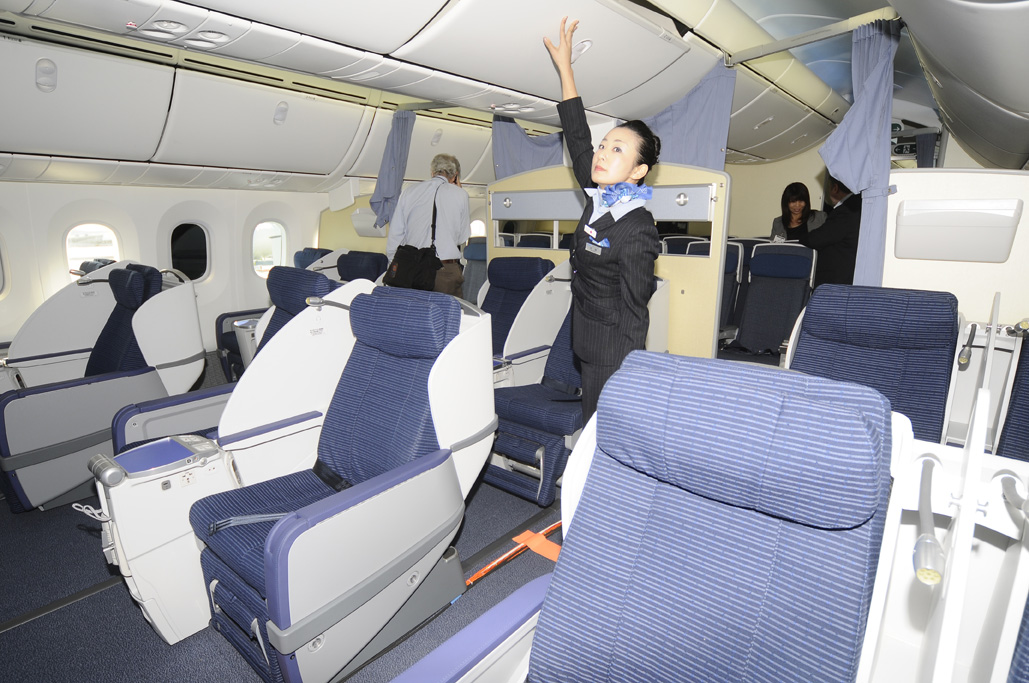 oeing 787 Dreamliner de ANA