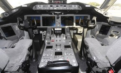 Cockpit del Boeing 787 Dreamliner