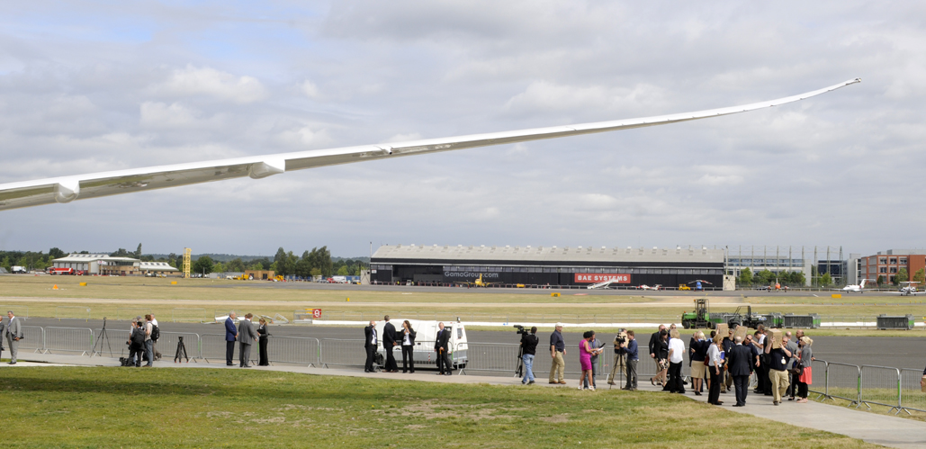 B-787 Dreamliner en Farnborough 2010