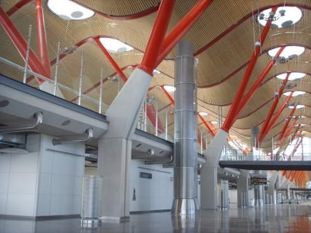 Satélite de la T4 de Madrid Barajas