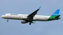 Level pasará a tener siete Airbus A321, cuatro basados en Viena y tres em Amsterdam.