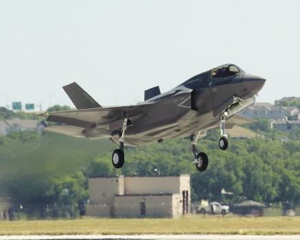 Primer Lockheed Martin F-35B de la RAF