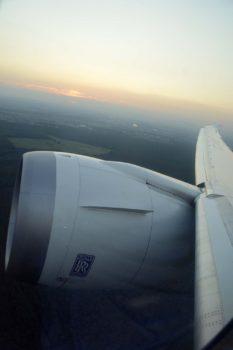 Las vibraciones del los motores Rolls-Royce Trent 1000 de los B-787 están causando daños en las alas de los aviones.