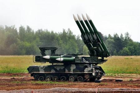lanzadera de misiles BUK