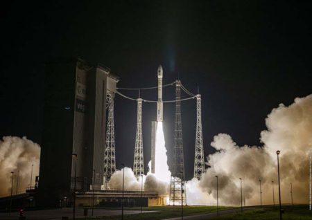 El UPMsat-2 voló al espacio a bordo del lanzador Vega