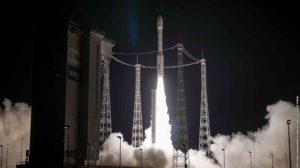 Lanzamiento del satélite espía marroquí Mohammed VI-B el 20 de noviembre de 2018.