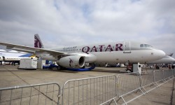 Airbus A320 de Qatar Airways con configuración sólo business.