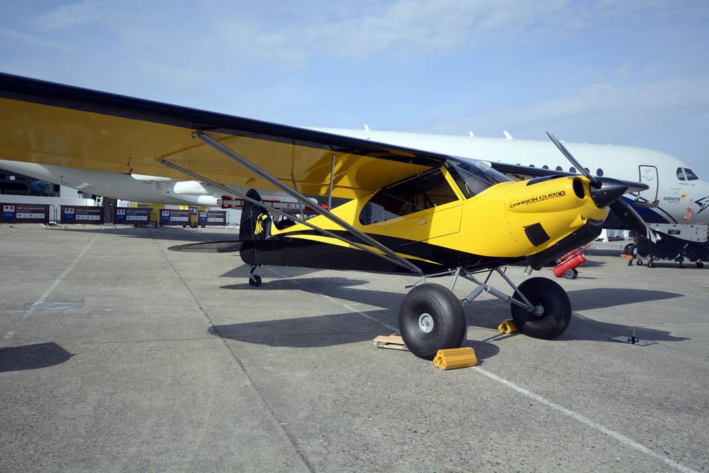 El Carbon Cub EX2, experimental que se vende en forma de kit.