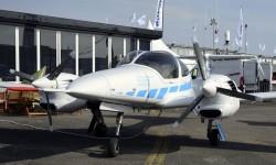 Diamond ofrece este DA-42 con la posibilidad de ser tripulado remotamente o a bordo.