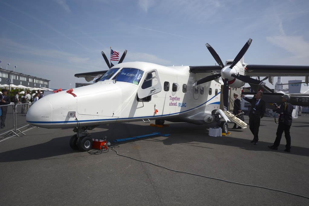 RUAG presentó este Dornier 228 para SAR.