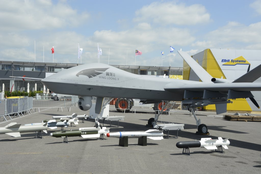 UCAV chino Wing Loong II