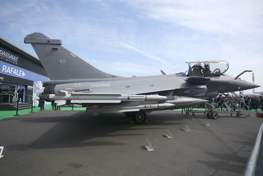 El Rafale en su versión naval.