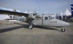 El Tecnam P2006, un opción barata para la vigilancia marítima