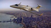 El Bombardier Learjet 75 y su hermano el learjet 70 derivan de los learjet 40 y 45.