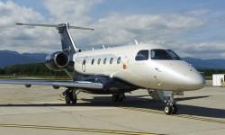 El Embraer Legtacy 450 debuta en EBACE