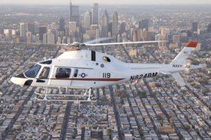 El demostrador del TH-37A usado por Leonardo en la fase de evaluación de los helicópteros ofertados.