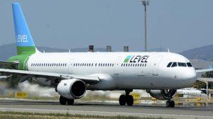 Uno de los Airbus A321 que ha incorporado Level en su división austríaca.