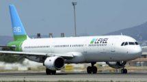 Level contaba con 2 Airbus A320 y 4 A321 para sus vuelos europeos con base en Viena y Amsterdam.
