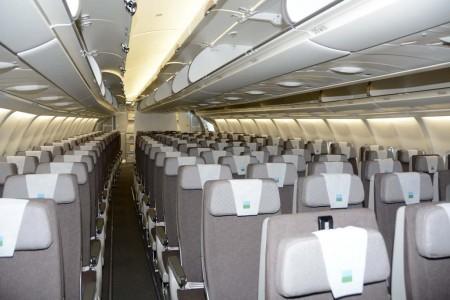 Asientos de clase turista del Airbus A330 de Level.