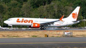El avión accidentado durante uno de sus vuelos e prueba.