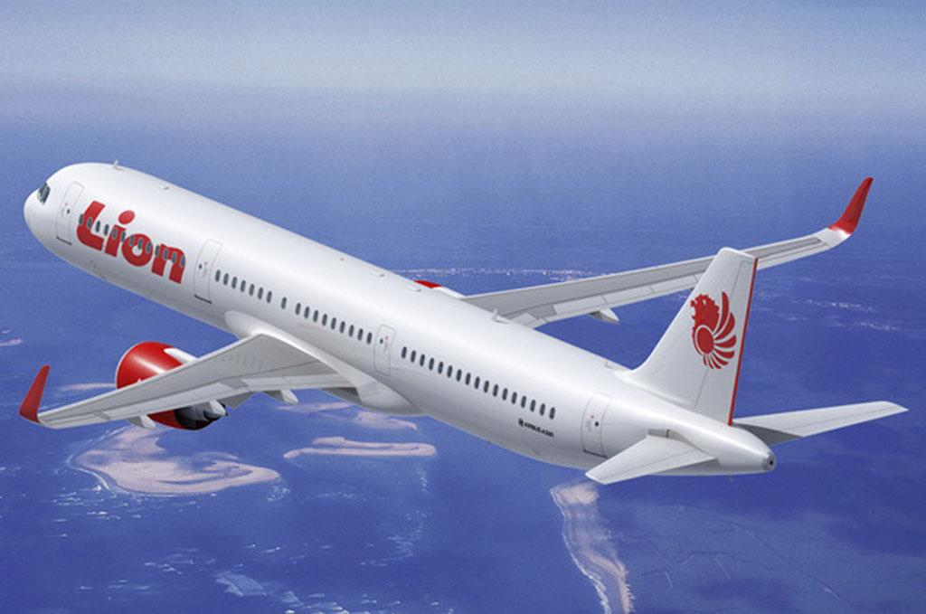 Airbus A321neo de Lion Air