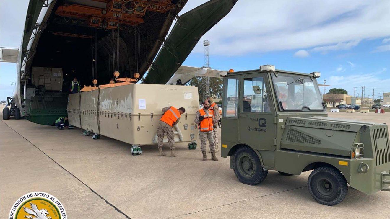 Los Predator serán trasladados en los próximos días a la base aérea de Talavera.