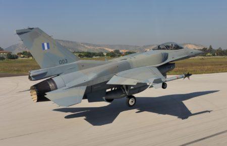 Lockheed Martin F-16C Block 52+ de la Fuerza Aérea griega.