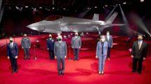 Entrega a Dinamarca de su primer Lockheed Martin F-35A.